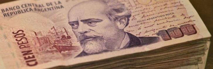 Cambio na Argentina Pesos Argentinos Moeda Trocar