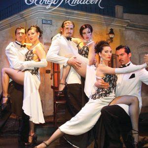 El Viejo Almacén Tango Show Buenos Aires Jantar