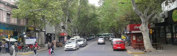 Avenida Las Heras Mendoza Argentina