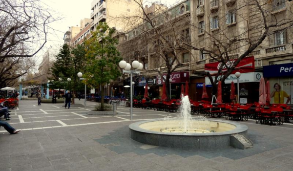 Peatonal Sarmiento Mendoza Argentina 2
