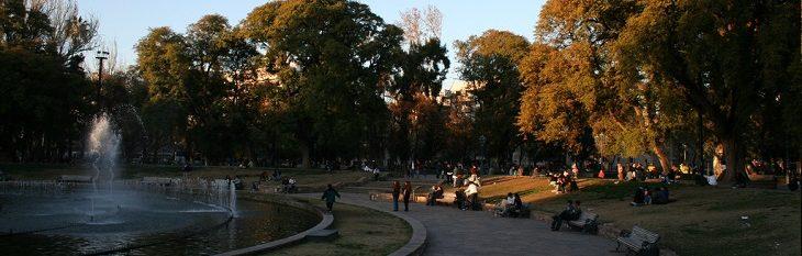 Plaza Independencia Mendoza Argentina
