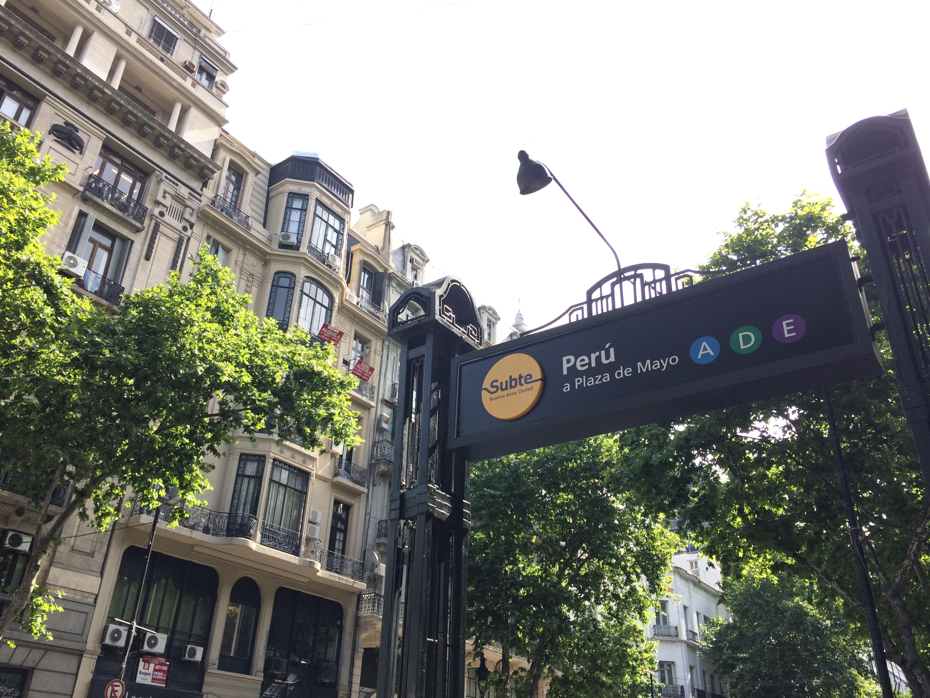 Primeira viagem a Buenos Aires