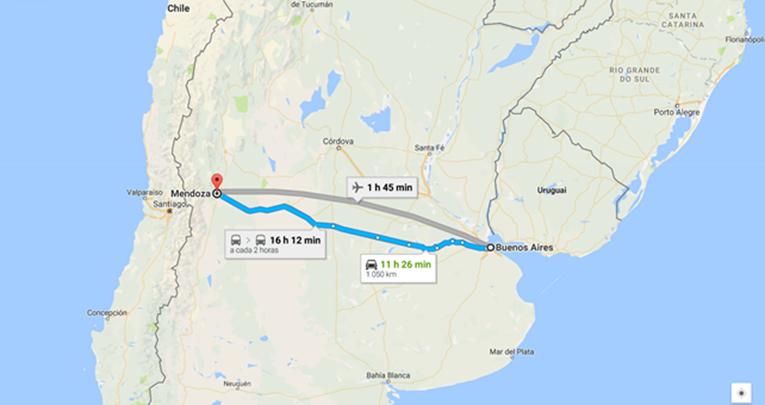 Como Chegar de Onibus Buenos Aires para Mendoza Argentina