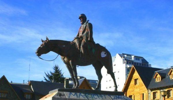 Monumento a Julio Roca Bariloche Argentina