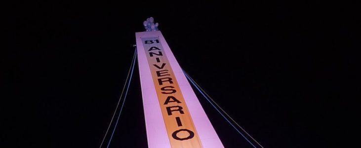Obelisco de Buenos Aires completa 81 anos na Semana de Mayo Argentina 01