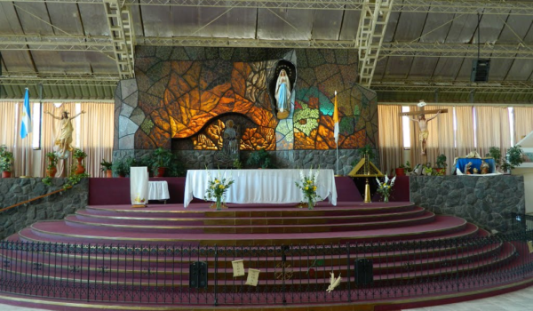 Igrejas Mendoza Santuario de la Virgen de Lourdes