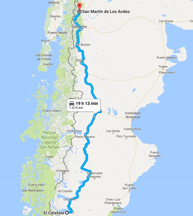Como Chegar em El Calafate Argentina 3