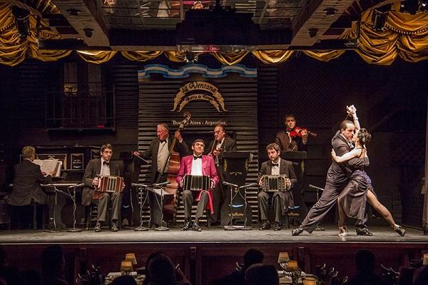 Os melhores shows de tango de buenos aires La Ventana
