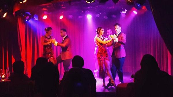 Os melhores shows de tango de buenos aires Rojo Tango