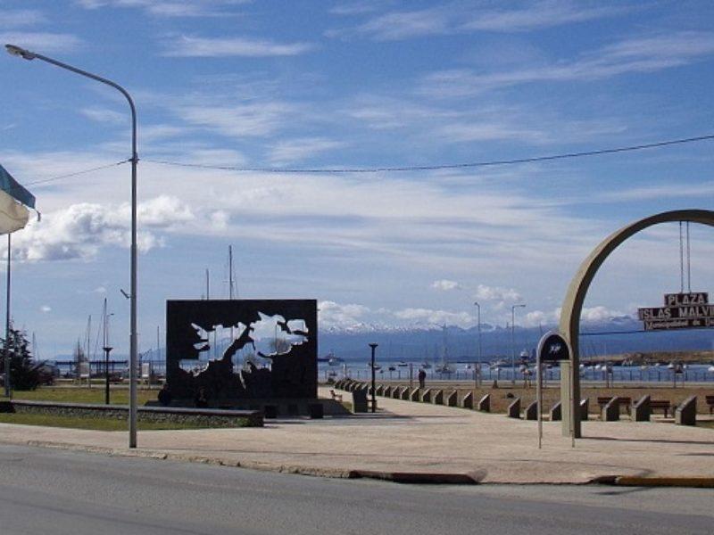 Praça Ilhas Malvinas Argentina Ushuaia 2