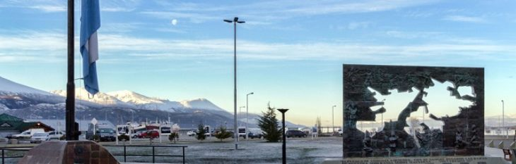 Praça Ilhas Malvinas Argentina Ushuaia