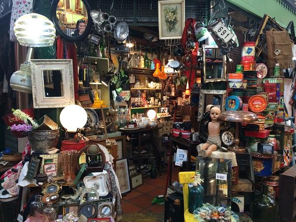 Mercado de San Telmo Buenos Aires Antiguidades