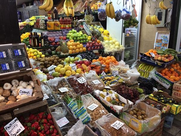 Mercado de San Telmo Buenos Aires Frutas