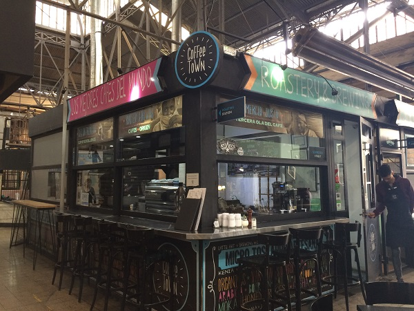 Mercado de San Telmo Coffee Town